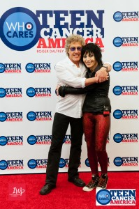 Roger Daltrey and Joan Jett